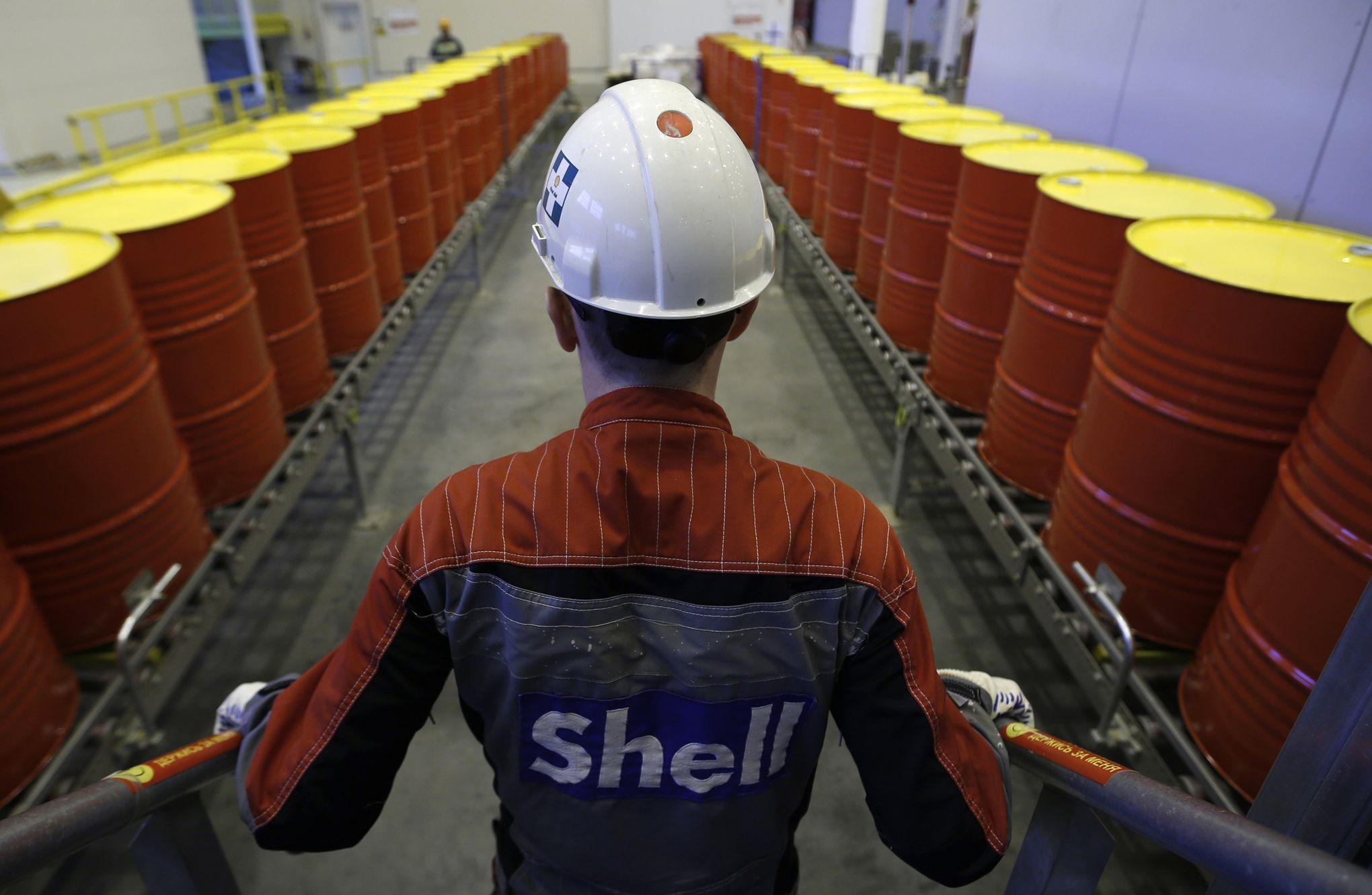 pétrole shell